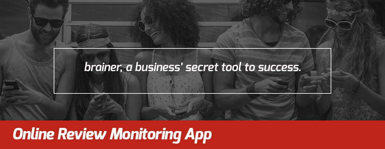 Online Review Monitoring App - brainer