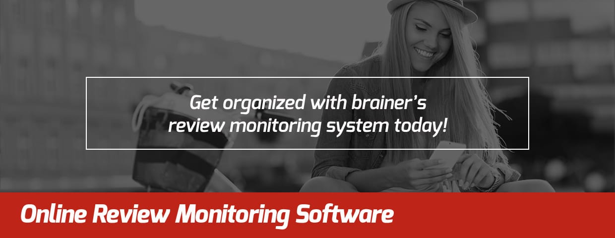 Online Review Monitoring Software - brainer