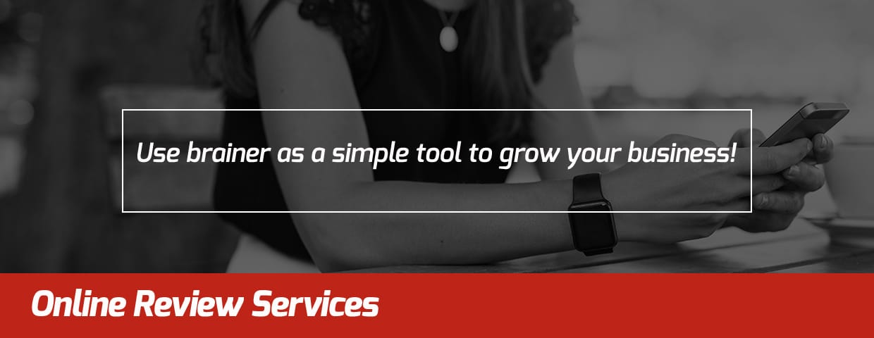 Online Review Services - brainer